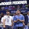 Bastian Baker lors des demi-finales de l'US Open à l'USTA Billie Jean King National Tennis Center de Flushing dans le Queens à New York, le 11 septembre 2015