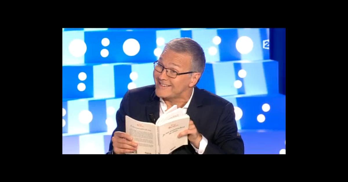 Laurent ruquier sur le plateau d 39 on n 39 est pas couch le samedi 12 septembre 2015 purepeople - Humoriste on est pas couche ...