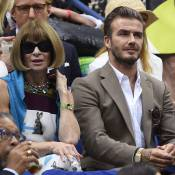 Anna Wintour charmée par David Beckham, malgré la déception de l'US Open