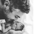 Dave Annable et sa fille Charlie Mae / photo postée sur Instagram.
