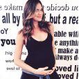 Odette Annable enceinte de son premier enfant / photo postée sur Instagram.