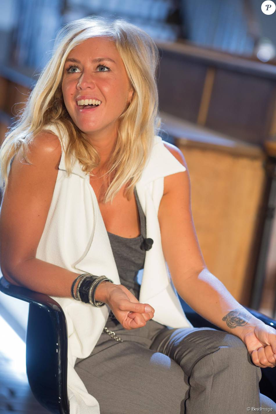 enora malagré au bastille design center à paris le 26 août 2015 purepeople