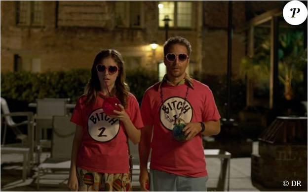 Anna Kendrick et Sam Rockwell dans Mr Right.