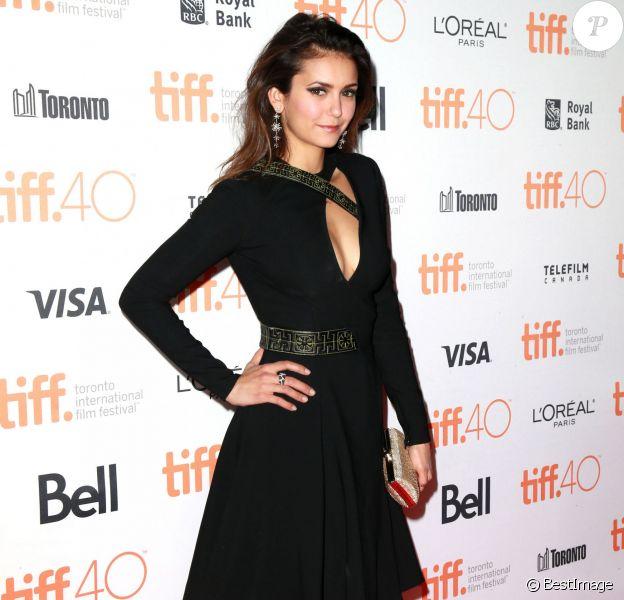 Nina Dobrev à la première de 'The Final Girls' lors du Festival du film 2015 à Toronto, le 19 septembre 2015