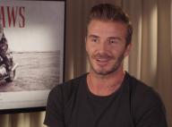 David Beckham acteur : Première expérience, motard nerveux face à Harvey Keitel