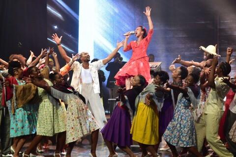 Gospel sur la Colline : Un show divertissant, jazz et endiablé !