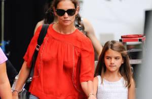 Katie Holmes : Maman responsable avec Suri, intimidée au Global Citizen Festival