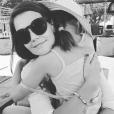 Katie Holmes pose avec sa fille Suri (photo postée le 13 septembre 2015)