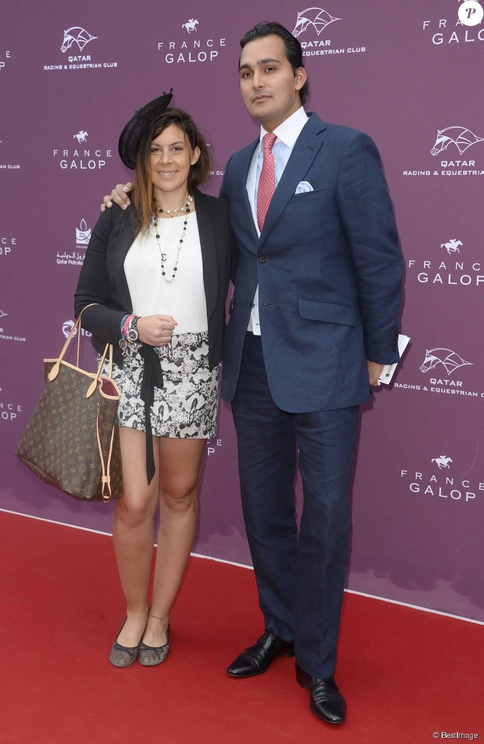 Marion bartoli et son compagnon qatar prix de l 39 arc de for Prix compagnon