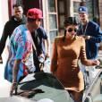 Kylie Jenner et son petit ami Tyga de sortie à Culver City, le 29 septembre 2015.