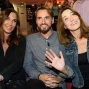 Carla Bruni, Jenifer et Zazie : Trio parfait pour le chanceux Christophe Willem