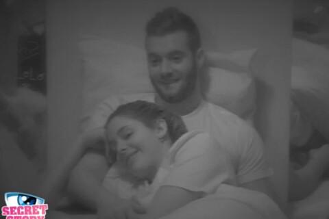 """Secret Story 9 - Coralie et Loïc s'enlacent : Bisous, câlins, """"Je t'aime""""..."""