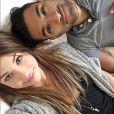 Selfie de Marie Lopez, alias EnjoyPhoenix, et son petit ami WarTek