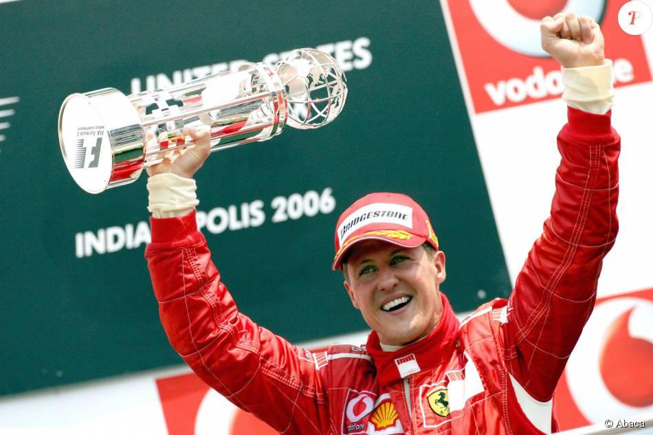 Michael Schumacher Apres Victoire Son Mick