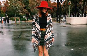 Fashion Week : Caroline Receveur, blogueuse craquante dans les rues de Paris