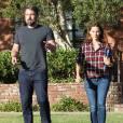Ben Affleck et Jennifer Garner sortent ensemble d'un centre médical à Santa Monica le 3 septembre 2015