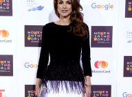 La somptueuse Rania de Jordanie face à Nicole Kidman, toute en élégance