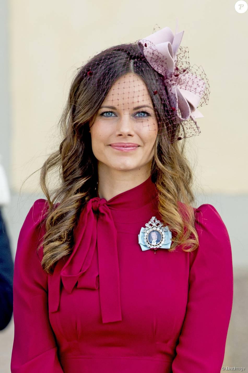 La princesse Sofia (Sofia Hellqvist) - Baptême du prince ...