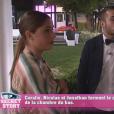 Coralie et Jonathan dans la quotidienne de Secret Story 9, le lundi 12 octobre 2015