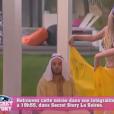 Mélanie, danseuse orientale sexy dans la quotidienne de Secret Story 9, le lundi 12 octobre 2015
