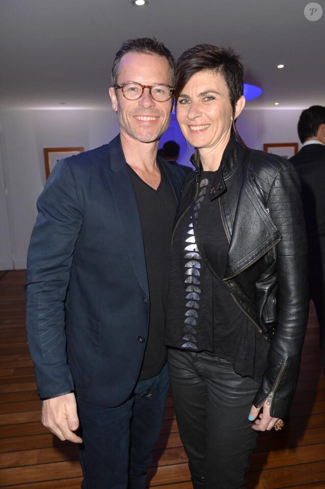 Guy Pearce et Kate Mestitz - Soirée Vanity Fair Armani à l'Eden Roc au cap d'Antibes le 17 mai 2014