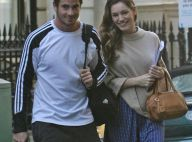 REPORTAGE PHOTOS : La magnifique Kelly Brook vit un vrai big love avec son rugbyman !