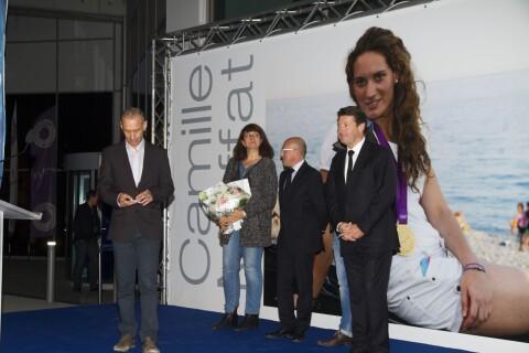 Camille Muffat : Émotions pour un ultime hommage devant sa famille