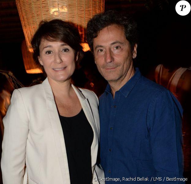 Exclusif - Daniela Lumbroso et son mari Éric Ghebali participent aux premières vendanges de Marrakech, le 10 octobre 2015.