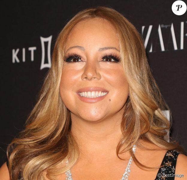 """Mariah Carey à la soirée """"Harper's Bazaar Icons"""" à l'hôtel Plaza à New York, le 16 septembre 2015"""