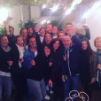 Laure Manaudon, son chéri Jérémy Frérot, et tous leurs amis à fond pour la finale de rugby