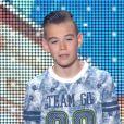 Le jeune Hanoï face au jury, dans  La France a un incroyable talent  (saison 10, épisode 1), le mardi 20 octobre 2015 sur M6.
