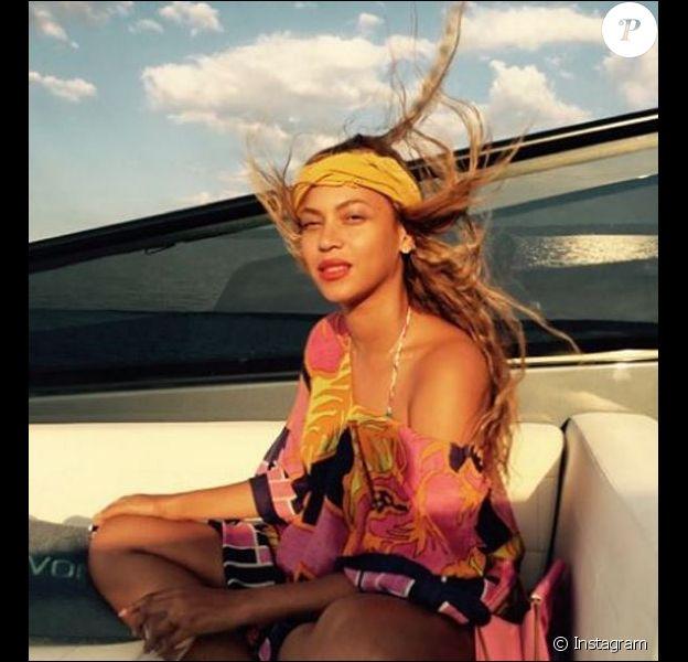 Beyoncé sur Instagram. Octobre 2015