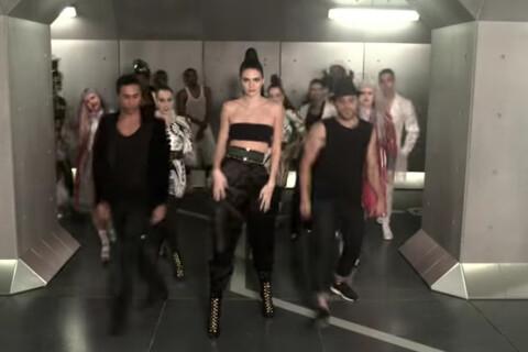 Kendall Jenner danseuse sexy pour Balmain