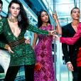Visuels de la campagne Balmain pour H&M avec Gigi Hadid, Jourdan Dunn et Kendall Jenner