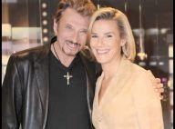 REPORTAGE PHOTOS EXCLUSIVES : Johnny s'est confié à sa copine Laurence Ferrari : 'Je veux voir ma petite fille grandir'  Photos Exclusives