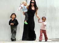 REPORTAGE PHOTOS : Angelina Jolie et ses enfants... bonheur éclatant à la Nouvelle Orléans ! photos exclusives