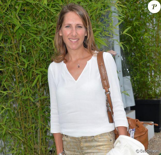 Maud Fontenoy à l'université d'été du Medef à Jouy-en-Josas, le 26 août 2015.