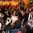 Exclusif - EnjoyPhoenix (Marie Lopez) sur la scène du salon Video City, le 1er évènement dédié aux créateurs vidéo du web à la porte de Versailles à Paris, le 8 novembre 2015. © Dominique Jacovides/Romuald Meigneux/Bestimage