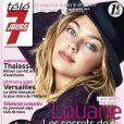 Louane Emera en couverture de Télé 7 Jours, le 9 novembre 2015 en kiosques