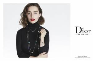Emilia Clarke : Précieuse beauté en égérie Dior