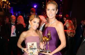 Sylvie Meis : Sublime et décolletée, l'ex-star des wags rayonne aux Bambi awards