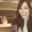 Nathan Fillion, Krista Allen et Dina Meyer en photo sur Instagram.