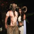 Krista Allen et Nathan Fillion déguisés pour Halloween / photo postée sur Instagram.