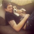 Krista Allen a posté une photo de son fils Jacob et de leur chien sur son compte Instagram.