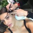 Kim Kardashian confie ses sourcils à Anastasia