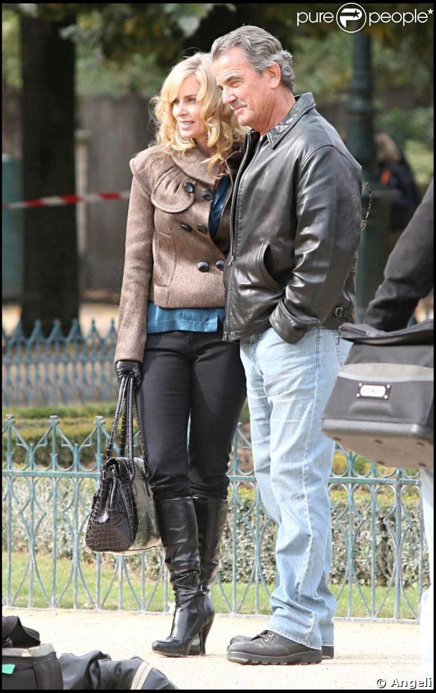 Victor (Eric Braeden) et Ashley (Eileen Davidson), une vieille histoire