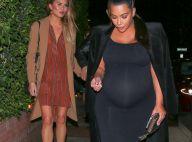 Kim Kardashian et Chrissy Teigen : Amies enceintes et complices