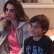 """Rania de Jordanie : Tendue devant le """"clasico"""" avec Hashem, son petit dernier"""