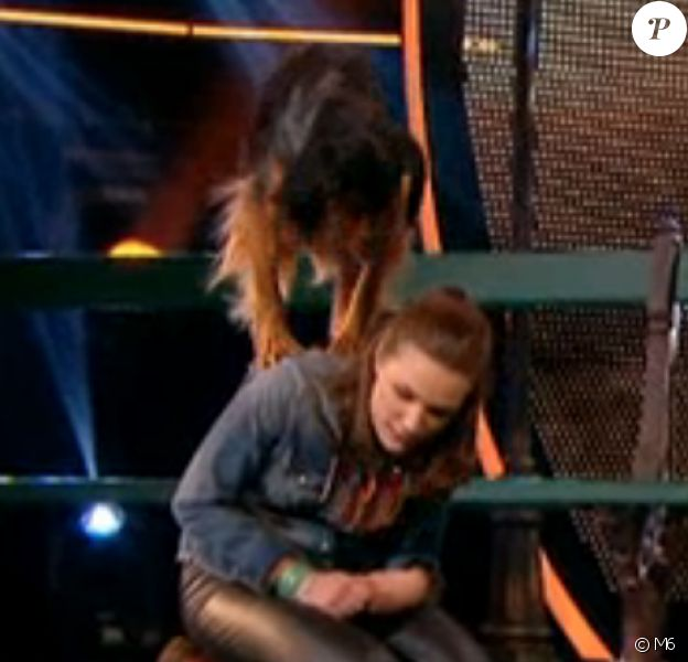 Juliette et Charlie, dans Incroyable Talent 2015 (demi-finale) sur M6, le mardi 24 novembre 2015.
