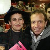 Caroline Loeb et Philippe Candeloro fêtent le marché de Noël de La Défense